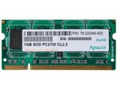 1GB SO DIMM 64*8, Apacer 78.02G49.403