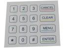Numerická klávesnice IP65 K-TEK-D100KP-16, panelová