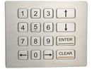 Numerická klávesnice IP65 K-TEK-B120KP-DWP, panelová