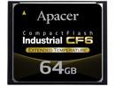 Apacer Industrial CF6 64GB, 0°~70°C SLC, AP-CF064GRANS-NRC