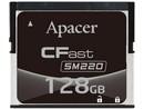Apacer Ind. CFast, SM220 MLC 128GB, 0~70°C, APCFA128GGDAD-4ETM1