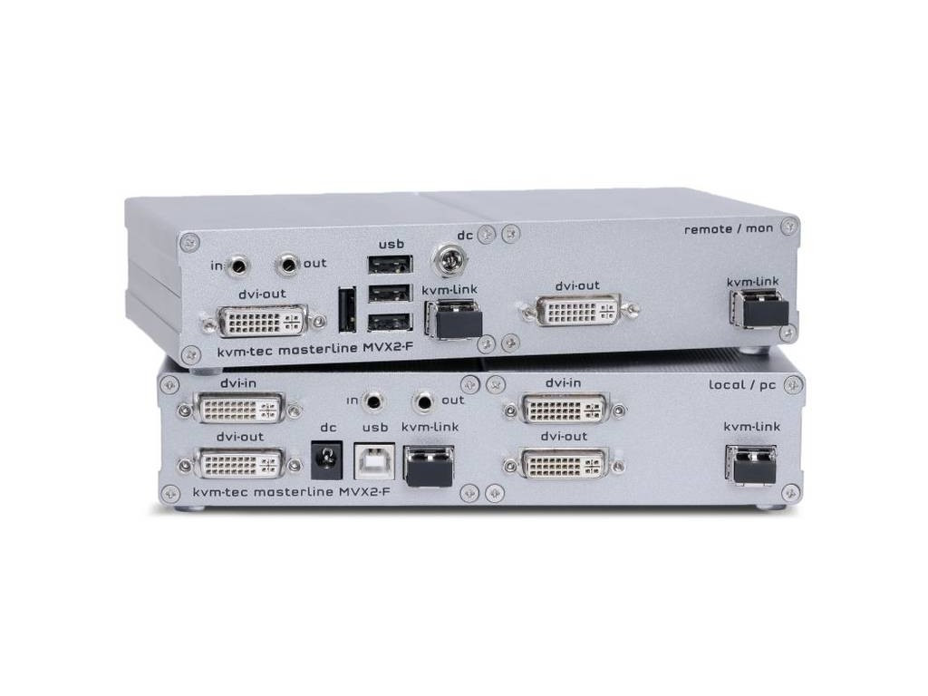 KVM přepínače, extendery a vzdálená správa
