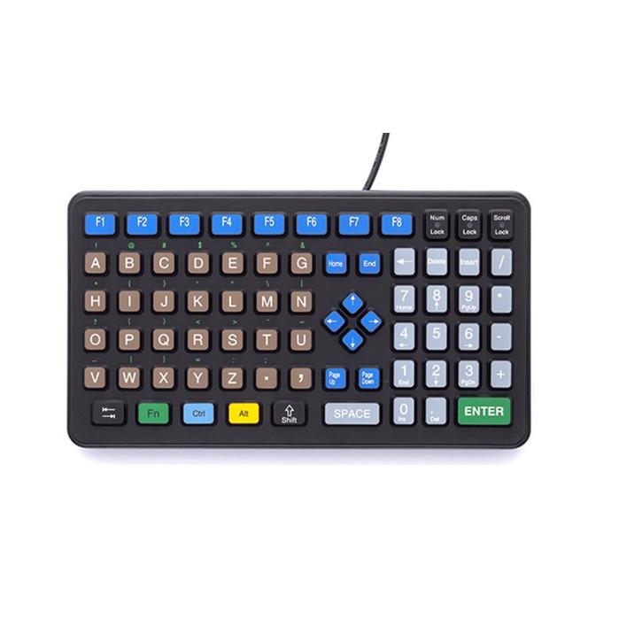 Průmyslové klávesnice a polohovací zařízení