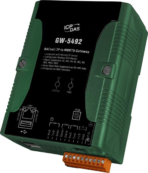 Převodníky pro sběrnici BACnet/IP